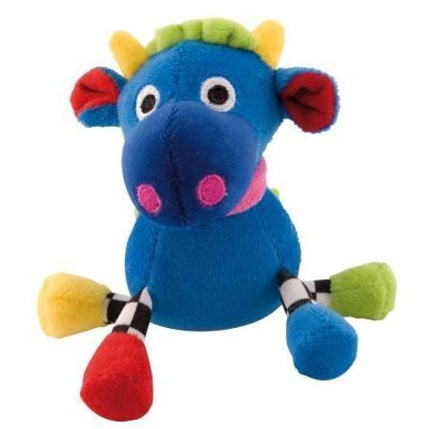 Canpol babies. Погремушка Сумасшедшие животные, 0+, корова синяя