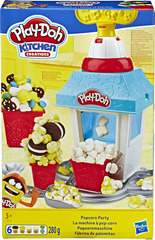 Play Doh Kitchen Creations Popcorn Party