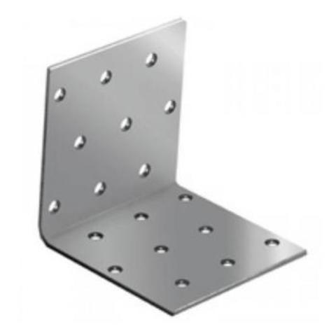 Уголок крепежный равносторонний 40х40х40х2