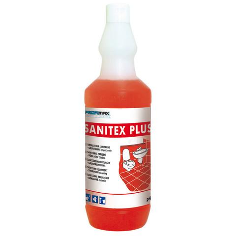 Средство для интенсивной чистки санитарного оборудования Lakma Profimax Sanitex Plus 1 л (концентрат)