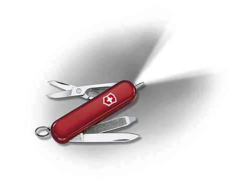 Нож-брелок Victorinox Classic Signature Lite, 58 мм, 7 функций, красный123