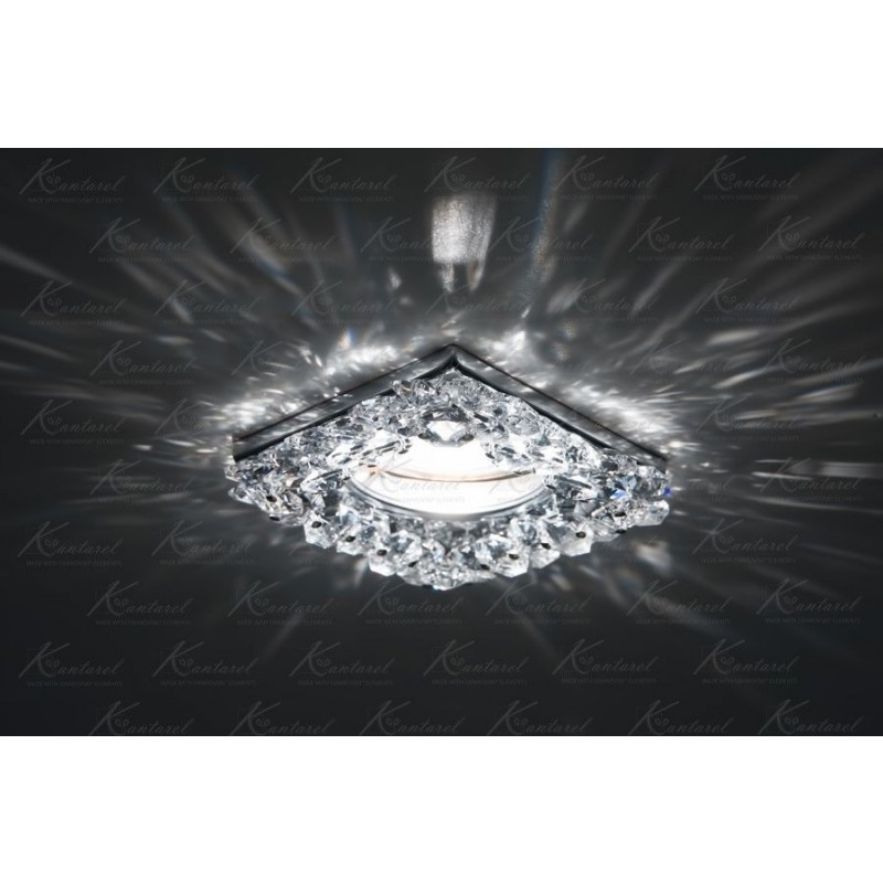 Встраиваемый светильник Kantarel Vasilek Square CD 058.3.1AB