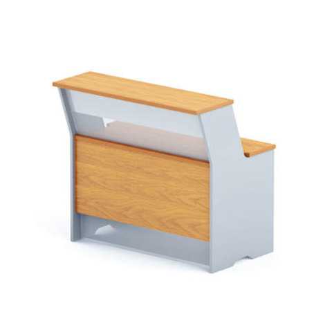 Стол-ресепшн прямоугольный (h=114 см) БОСТОН