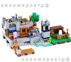 Конструктор Майнкрафт 18013 Береговая Цитадель 517 д