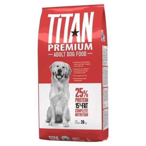 Titan Premium Adult Dog сухой корм для взрослых собак 20 кг