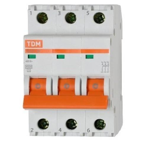 Автомат выкл.TDM ВА47-29 3Р 40А 4,5кА С