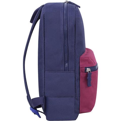Рюкзак Bagland Молодежный mini 8 л. 330 чорнильний/вишня (0050866)