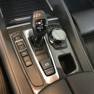 Карбоновая панель АКПП для BMW X6 F16
