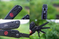 Мультитул Ganzo G302-B, 105 мм, 26 функций, нейлоновый чехол