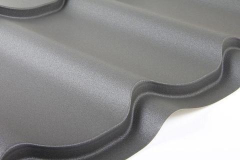 Металлочерепица Супермонтеррей Викинг RAL 7024 0,5 мм