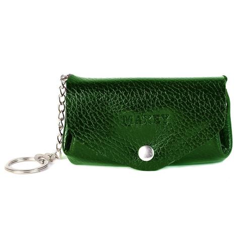 Футляр для монет и ключей | Зеленый