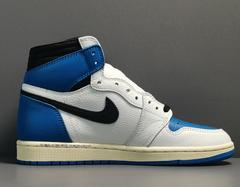 Travis Scott x Fragment x Air Jordan 1 High OG SP 'Military Blue'