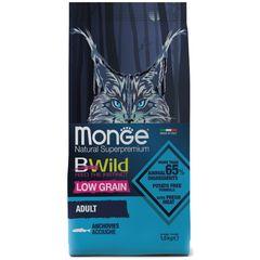Корм для кошек Monge BWild Cat Anchovies с анчоусами