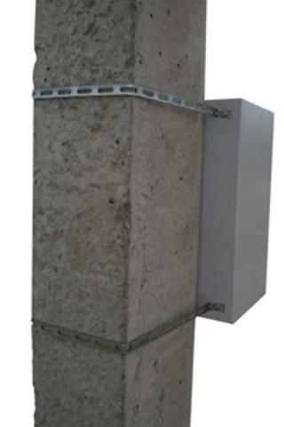 Комплект для монтажа к столбу без метизов (универсальный) (2шт) TDM