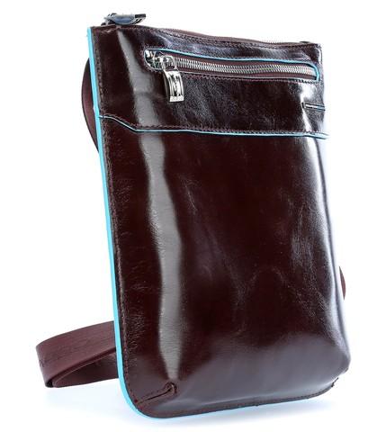 Сумка Piquadro Blue Square, коричневая, 22x25x2 см