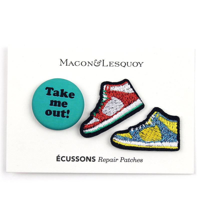 Набор патчей-заплаток Sneakers от Macon&Lesquoy