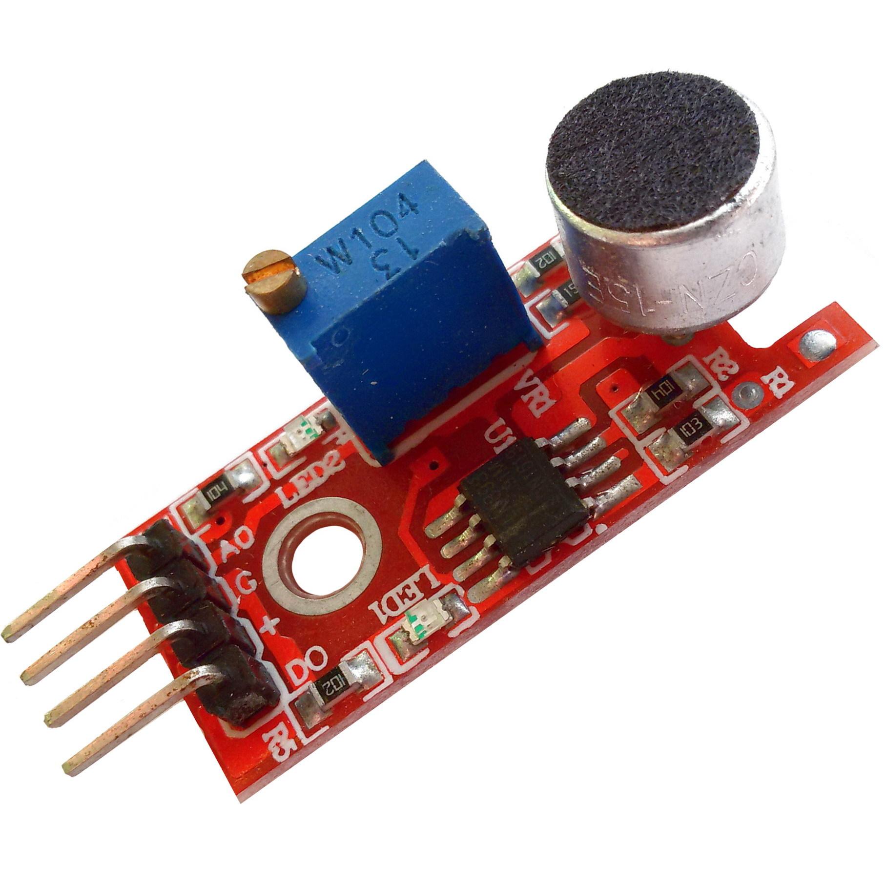 Модуль датчика звука KY-037 BIG SOUND