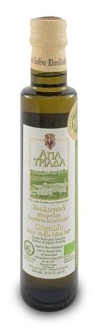 Оливковое масло греческое Органик Agia Triada 250 мл с острова Крит