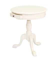 PLT 50 Журнальный столик (массив красного дерева) Ivory (слоновая кость) MK-2445-IV