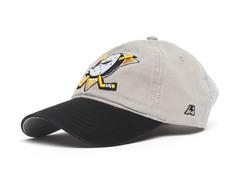 Бейсболка NHL Anaheim Ducks серая (подростковая)