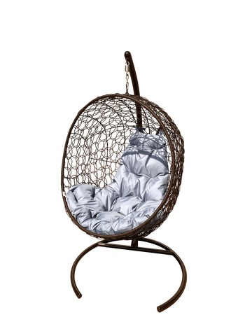 Кресло подвесное Porto brown/grey
