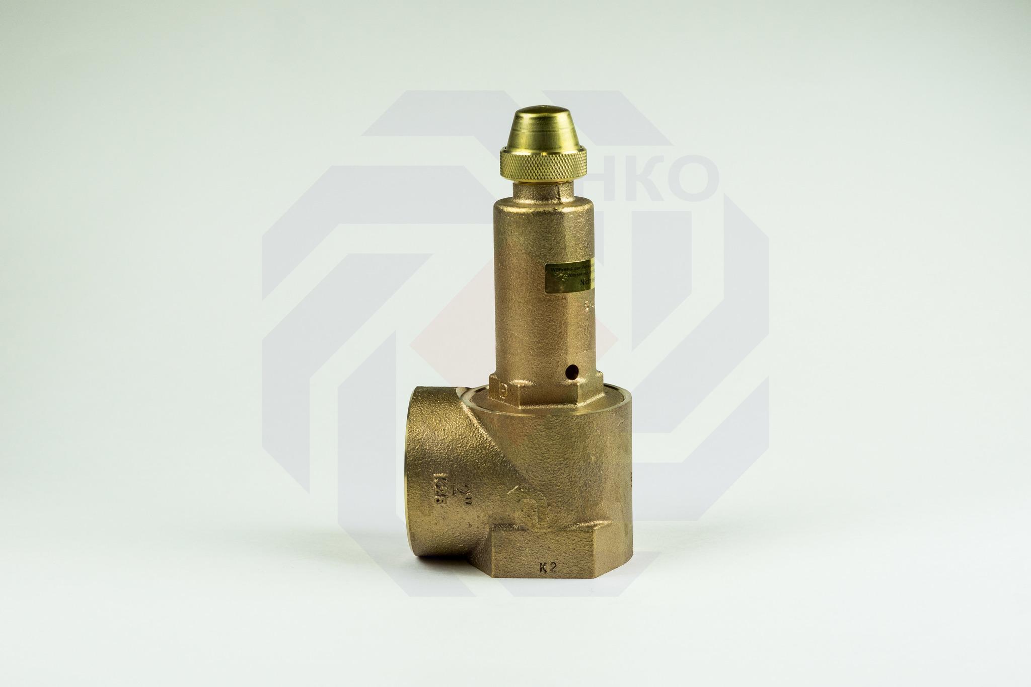 Клапан предохранительный GOETZE 651mWIK 6 бар 2