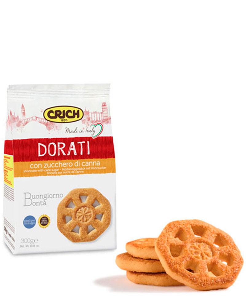 Печенье песочное Crich с тростниковым сахаром 300 гр.