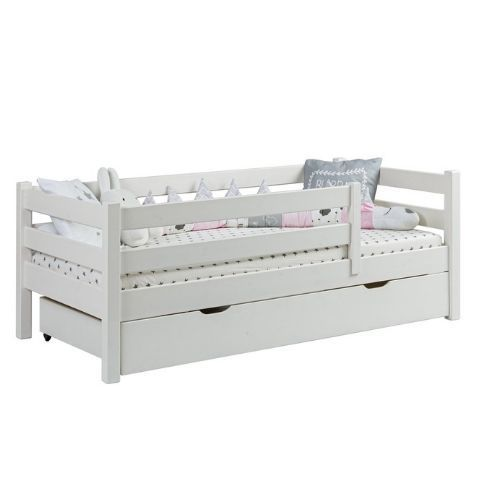 Детская кровать с бортиком и ящиками Кидс 3
