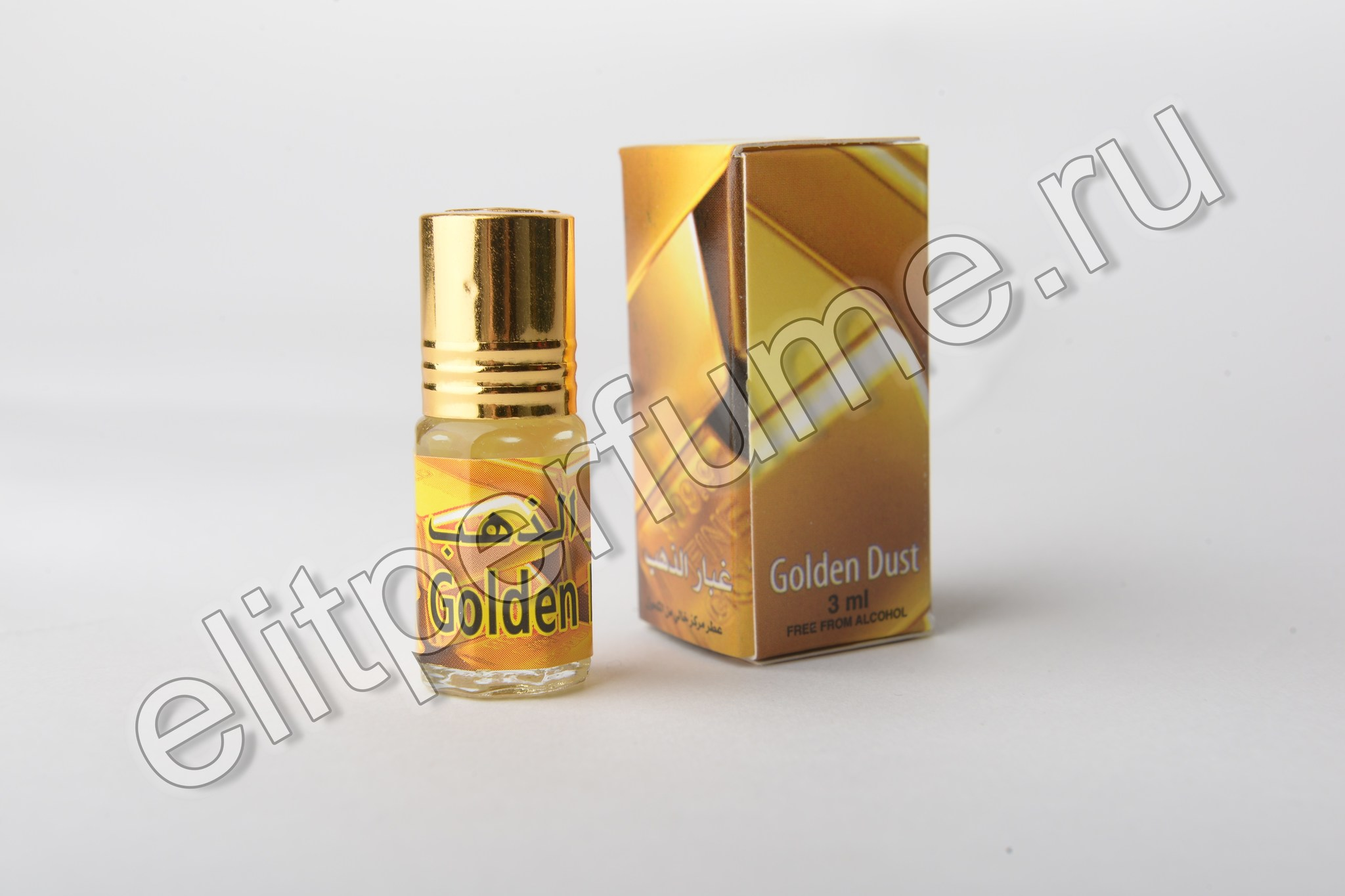 Golden Dust 3 мл арабские масляные духи от Захра Zahra Perfumes