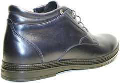 кожаные ботинки на шнуровке мужские