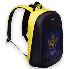 Городской рюкзак с монитором видео и фото
