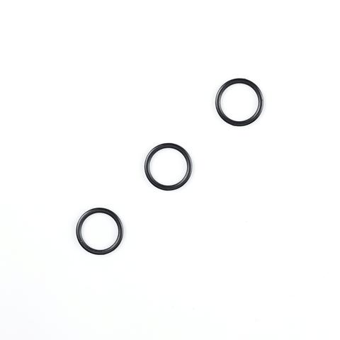 Кольцо для бретели черное матовое 12 мм