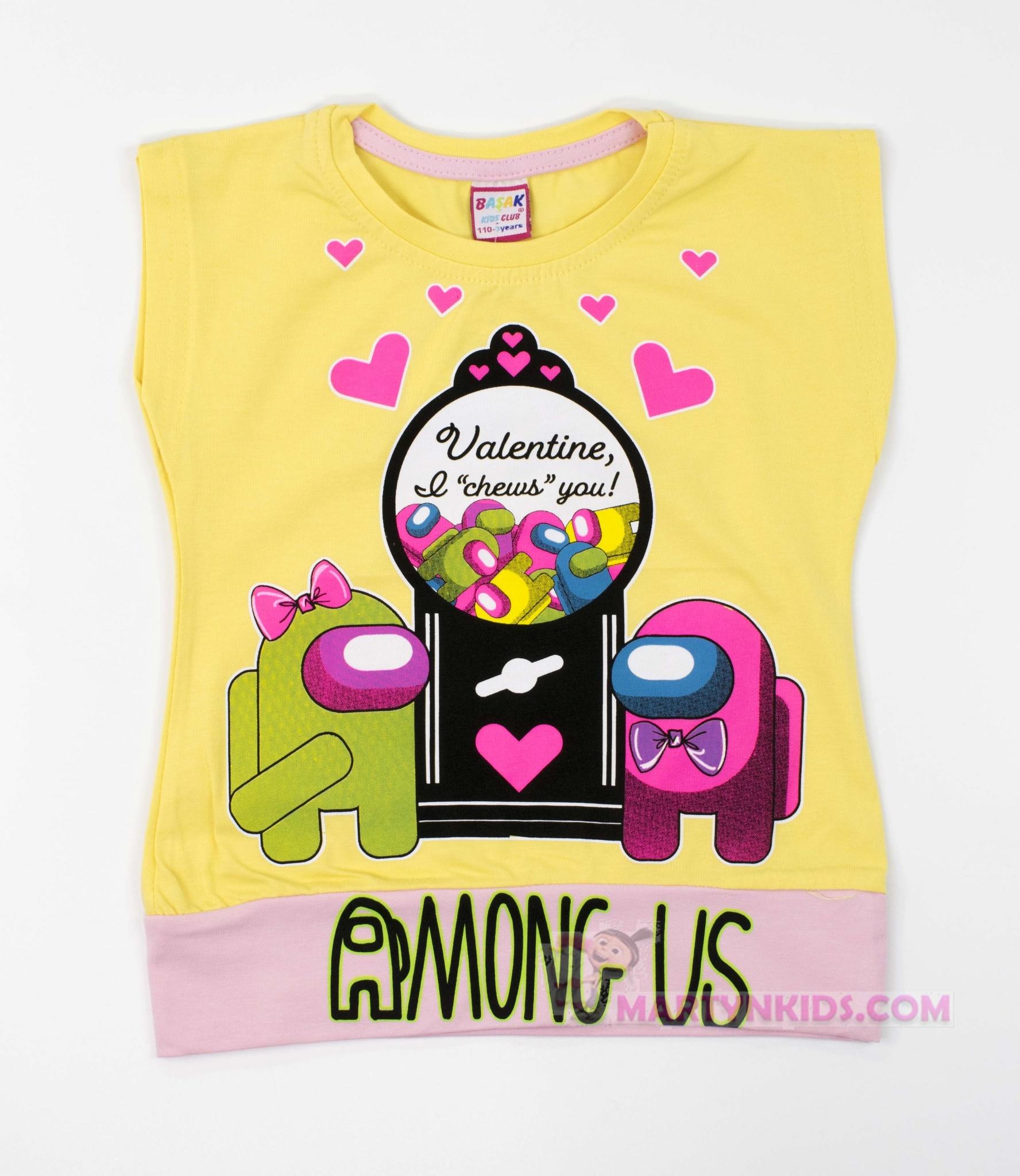 3448 футболка Valentine AMONG US