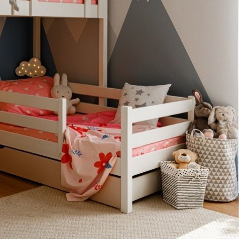 Детская кровать с бортиком Кидс 3
