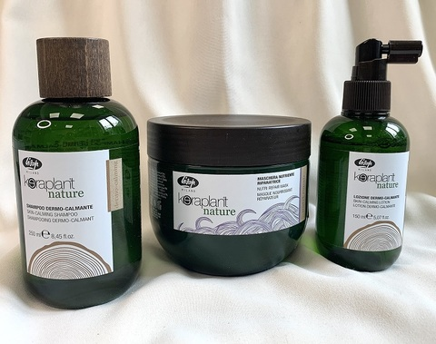 Комплекс KERAPLANT Nature для чувствительной кожи головы и сухих волос