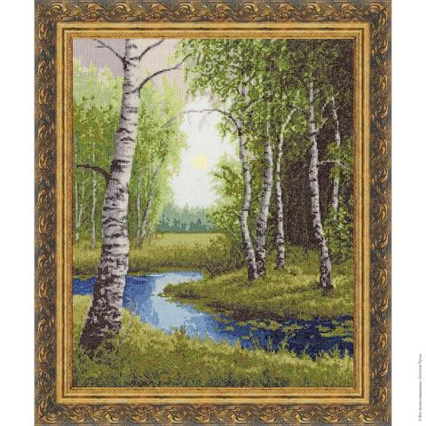 Размер: 44×35 см;¶Канва: Аида белая 14;¶Вышивается в 2 нити;¶Количество цветов: 32.