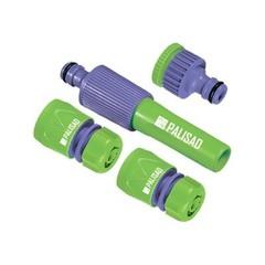 """Насадка для полива в комплекте с коннектором и адаптером """"PALISAD"""" 65179 (3/4)"""