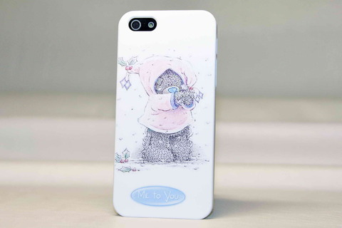 Чехол Me to You для iPhone 5, 5s, SE (She-bear)