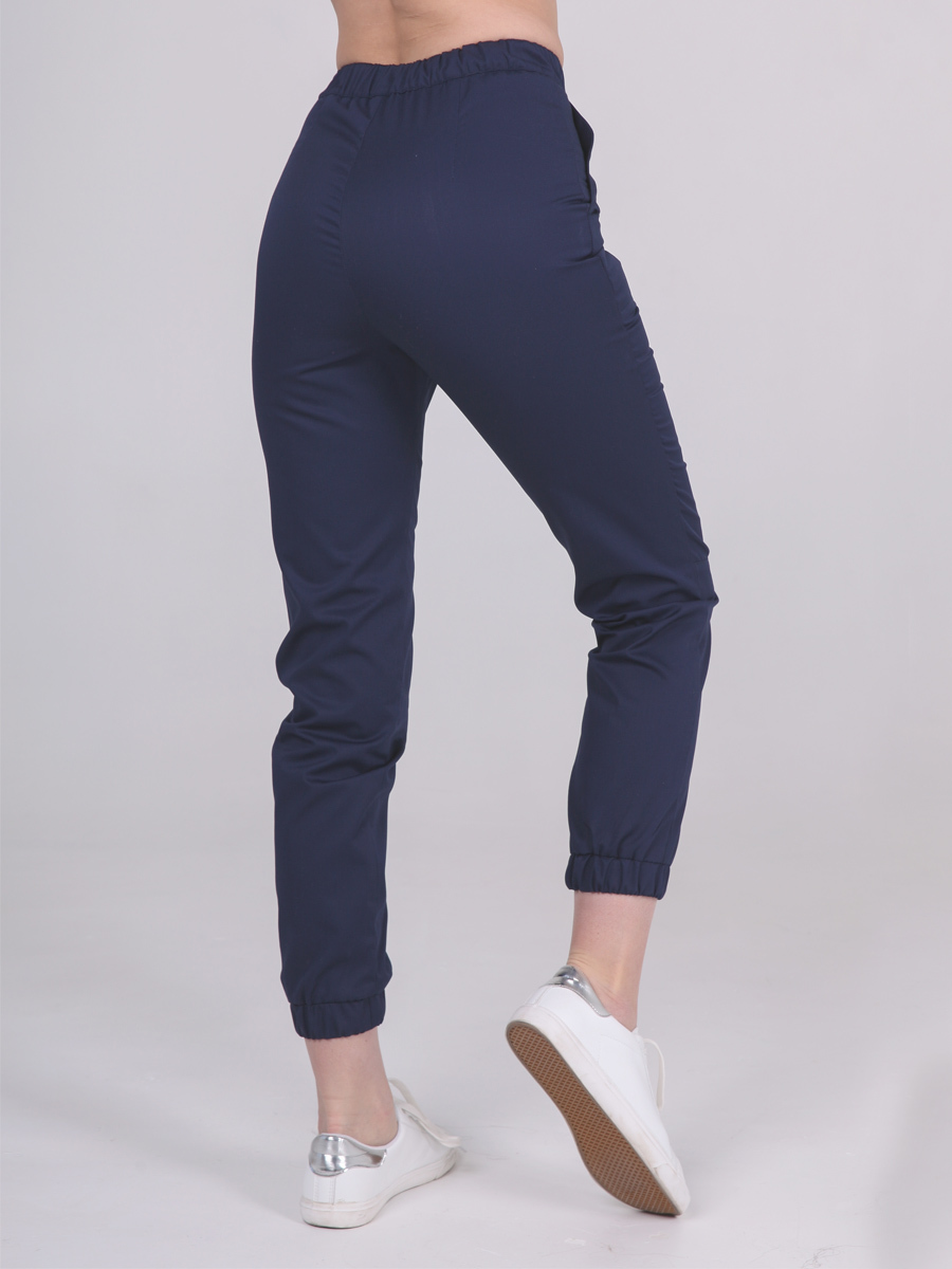 Женские медициские брюки синего цвета