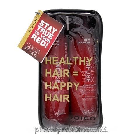Joico Color Infuse Red Gift Pack - Набор оттеночный, красный