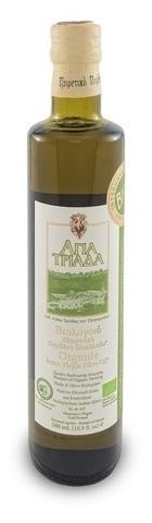 Оливковое масло греческое Органик Agia Triada 500 мл с острова Крит