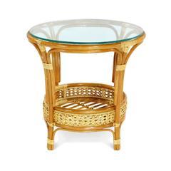 Стол кофейный из натурального ротанга Vinotti Пеланги