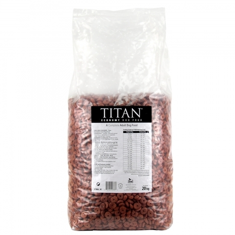 TITAN Economy Adult Dog Food корм для взрослых собак всех пород 20 кг