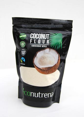 Кокосовая  мука органическая 100% мякоть кокоса