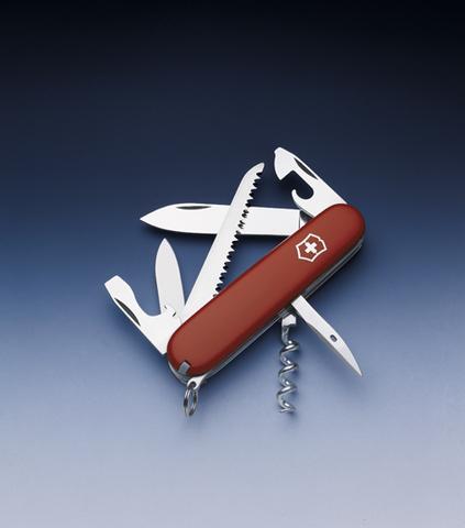 Нож Victorinox Camper, 91 мм, 13 функций, красный123