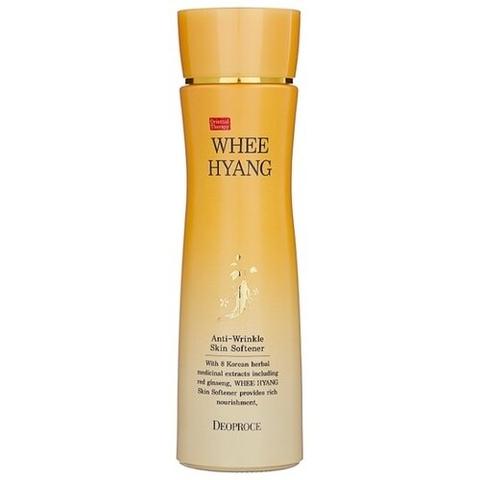 Антивозрастной тонер для лица Deoproce Whee Hyang Anti-Wrinkle Skin Softener