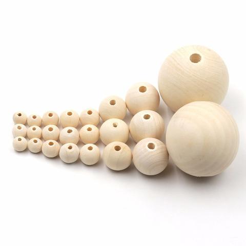 056-9969 Бусина деревянная, 4,5 см