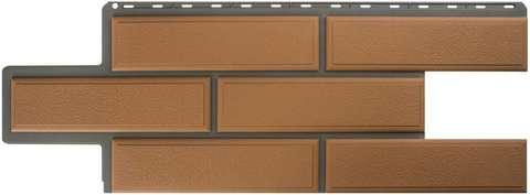 Фасадная панель Альта Профиль Камень венецианский Персиковый 1250х450 мм
