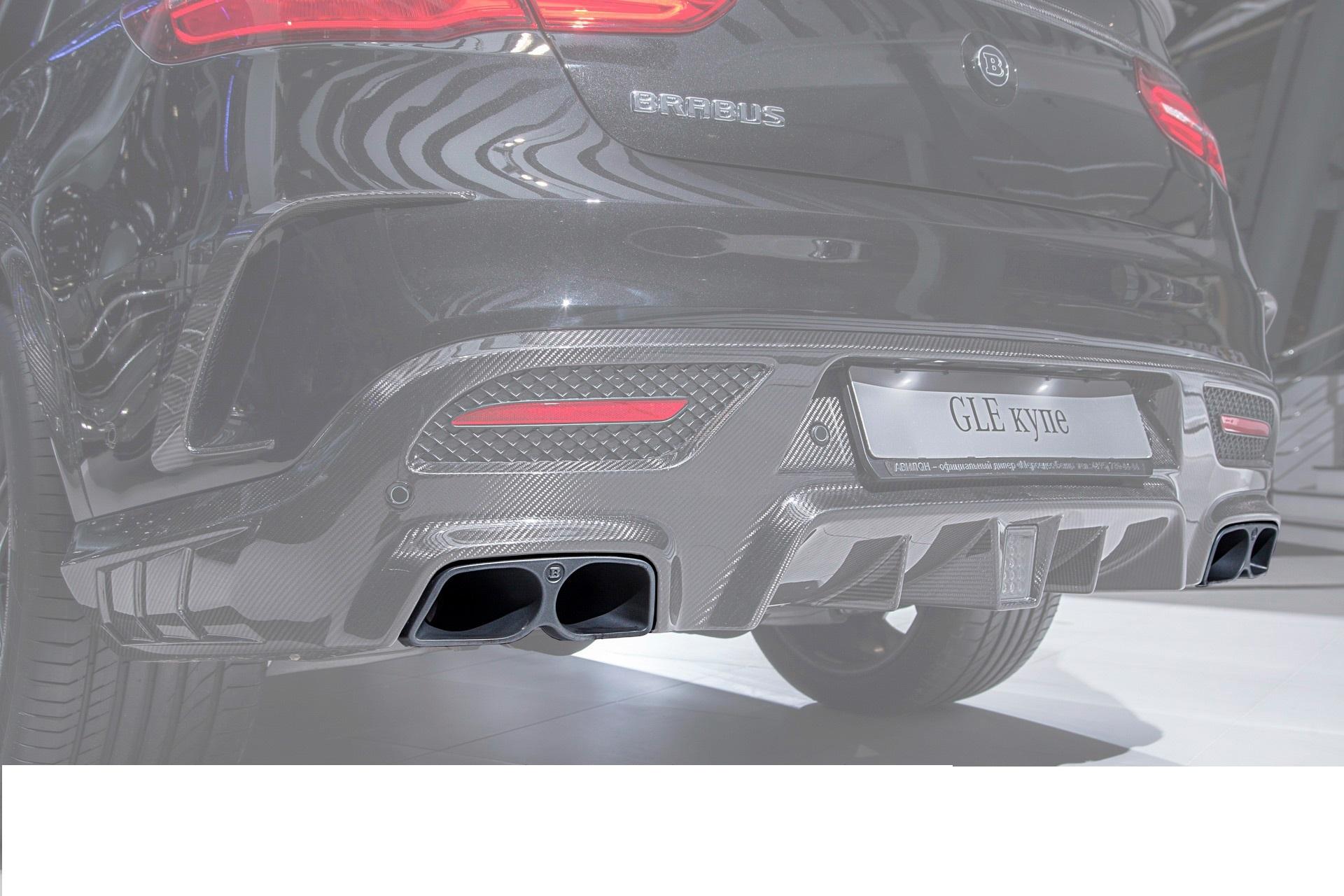 Карбоновые насадки Brabus Style AMG Sport для Mercedes С-class W205