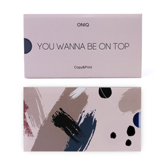 OTE-016 Пластина для стемпинга. Echo: You Wanna Be On Top #1